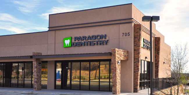 Contact Us at Paragon Dentistry located on the border of Allen and Plano, TX